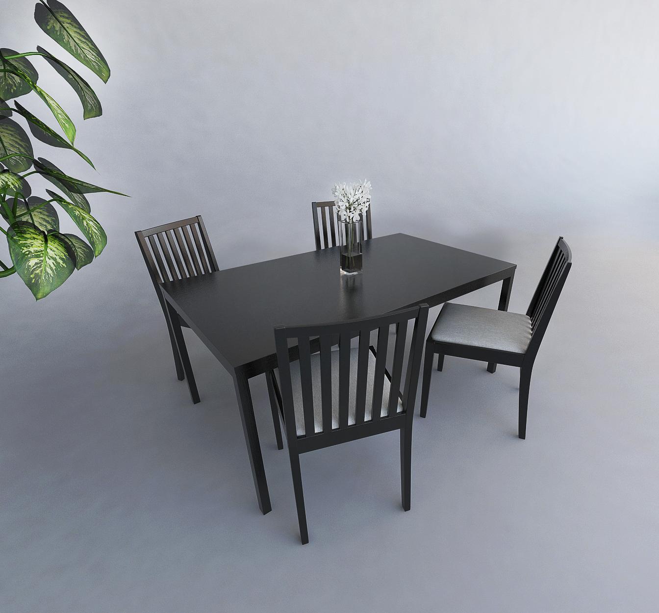 建築パース テーブルセット