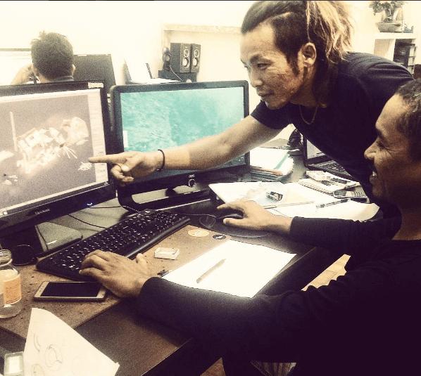 大介さんとNol Graphic 3Dのコラボレーション企画